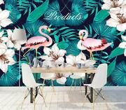 3d Flamingo O1923 Wallpaper Wall Mural Removable Self-adhesive Sticker Kids Amy