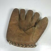 Vintage Simmons Frank Pep Young Sf-58-lh Baseball Glove Rht 1930and039s 1940and039s