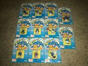Huge Lot Of 11 Vintage 1995 Smurfs Collectible Figures Irwin New/sealed