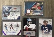 Nfl Quarterback Greats Auto Lot Manning/moon/marino/elway/young All Auto