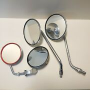 Bicycle Bike Vintage 80s Parts Accessories Japan Front Mirror Lot 4 Deadstock