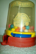 Vintage 1950s Jaw Teasers Commercial Penny Gumball Vending Machine - Not A Toy