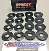 Manley 42437-16 I.d. Valve Spring Cup Locators For 1.625 Springs Set Of 16