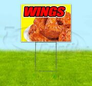 Wings Yard Sign Corrugated Plastic Bandit Lawn Decorations Usa