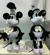 New D23 Disney Expo Limited Edition 50 Steiff Mickey And Minnie Mouse Plush