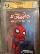 The Amazing Spider-man 16 Marvel Collector Corps Ss Stan Lee Cgc 9.6 Funko Pop