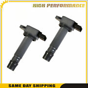 Ignition Coil 2pcs Uf574 5c1779 52-2134 8687939 For Volvo S80 Xc90 05-2011 4.4l