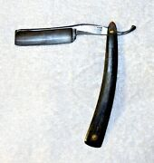 Antique Wade And Butcher - Sheffield Straight Razor And Case