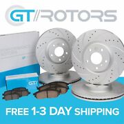 [front And Rear] Brake Disc Rotors And Ceramic Pads For Bmw E60 525i 528i 530i 04-10