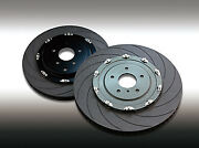 Dixcel Disc Rotor Type Fs 2-piece Bs34032w76r/77l [compatibility List In Desc.]