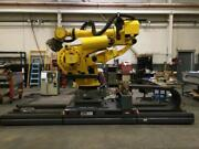 Fanuc Robot - M-900ia/600 Robot W/ R-30ia Controller And 15 Ft Track