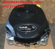 26hp Kohler Pskt7453011 Engine For Zero-turn And Riding Rider Lawn Mowers