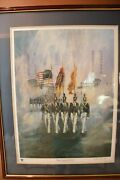 Color Guard By Ben Maile Limited Edition Print Numbered