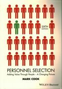 Personnel Selection Adding Value Through People - A Changing Picture, Paper...