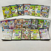 The Sims 3 Pc / Expansion Packs Pc And Mac Sims3 Cd's Vgc All With Manuals