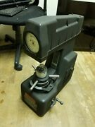 Superficial Hardness Tester. Rockwell 1js. Excellent Condition And Works Perfect