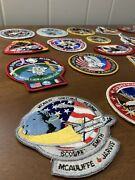 25 Nasa Space Shuttle Mission Patch Patches Lot Discovery Apollo Columbia