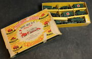 1960-1961 Lesney Matchbox Series Army G-5 Gift Set In Box