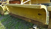 10 Ft. Gledhill Snow Plow Snowplow Power Angle 29 Husting Hitch Turn 38