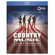 Ken Burns Country Music [new Blu-ray] Boxed Set