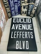 Ny Nyc Subway Roll Sign Euclid Pitkin Avenue East New York Lefferts Brooklyn Art