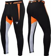 Rdx Kids Menand039s Mma Compression Pants Running Exercise Base Tight Cycling Sport