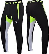 Rdx Kids Menand039s Sport Compression Pants Running Base Tight Cycling Exercise Mma