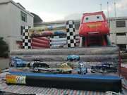 5mx4m Cars Inflatables Castle Bounce House No Usa Shipping