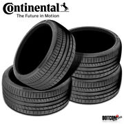 4 X New Continental Contisportcontact 5p 325/35r22 110y Performance Summer Tire