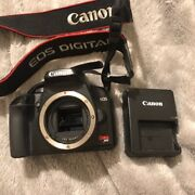 Canon Eos Rebel Xs / 1000d 10.1mp Digital Slr Camera - Blackbody Only +charger