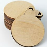 Christmas Ornament Bulb Wood Cutouts Earrings Jewelry Blanks Charms All Sizes