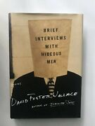 Brief Interviews With Hideous Men, David Foster Wallace Signed, First Edition