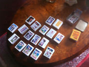 Collection Lot Of 1,359 Baseball And Basketball Cards 1 Autographed/signed Tin Box