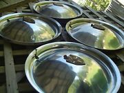 1949 49 1950 50 Lincoln Mark Continental Premier Town Car Hubcaps Wheel Covers