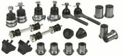 Pontiac Deluxe Front End Suspension Kit Tie Rod Ends+ball Joints+bushings 1965
