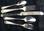 Towle Amelia Silverplate 5 Piece Place Setting Showroom Inventory A+