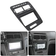 For Nissan 300zx 1990-99 Double Din Radio Bezel With Stock Finish