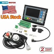 「usa」 4 Axis Offline Stand-alone Controller System G Code Cnc Router Kit W/ Mpg