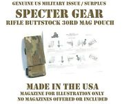 Specter Gear 289 Us Military 30rd Carbine Mag Collapsible Stock Pouch Multicam