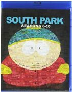 South Park Seasons 6-10 [new Blu-ray] Boxed Set Full Frame Subtitled Dolby