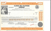 Illinois Bell Telephone Company.....abn Specimen First Mortgage Bond Due 2005