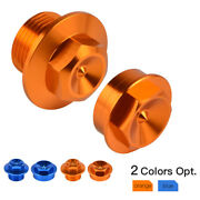 Pair Front Axle Shaft Lock Nut Bolt For Ktm 300 Sx Xc Xcw Tpi Six Days 2016-2021