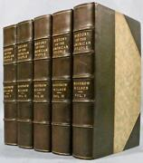 1902 A History Of The American People Woodrow Wilson Leather Illustrated