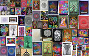 Indian Mandala Cotton Home Decor Wall Hanging Hippie Yoga Mat Poster Tapestry