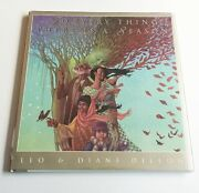 Leo And Diane Dillon To Every Thing A Season, 1st Trade Ed, Inscribed By Artists