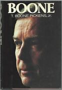 Boone By T. Boone Pickens And T. Boone Pickens Jr. Signed 1st Edition/1st Prt