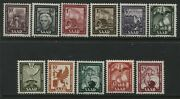 Germany Saar 10¢ To 18 Francs Unmounted Mint Nh
