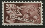 Germany Saar 1950 Airmail 200 Francs Unmounted Mint Nh