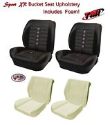 Sport Xr Front And Rear Seat Upholstery + Foam For 1966 - 72 Chevelle Convertible