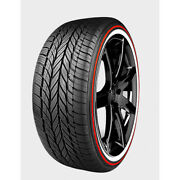 Vogue Tyre Red Stripe Custom Built Radial 235/55r17 99h .60 Ww And Rw Qty Of 4